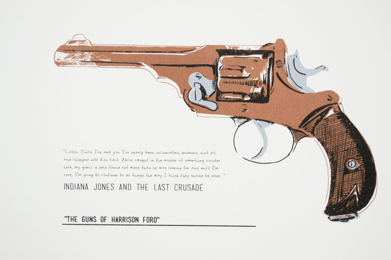 Print Garage The Guns Of Harrison Ford