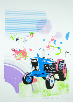 The Blue Tractor